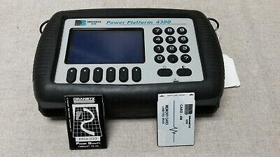 Dranetz Pp-4300 Bmi Power Platform Analyser Wtaskcard And Mem