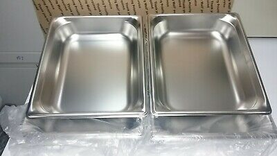 4 New Vollrath Stainless Steel Steam Table Super Pan 90222 12 Size Dw3b1