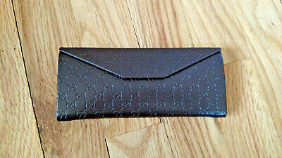 Gucci GUCCISSIMA Foldable Glasses Eyeglasses Case Trifold Sunglasses