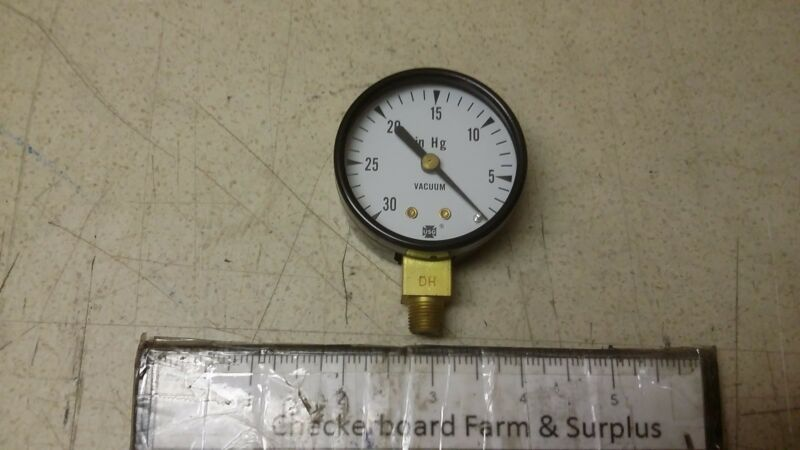 NOS Ametek Dial Indicating Vacuum Gage Gauge 047225A-V500 2-2DP1-8BM30 501S