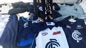 Carlton AFL signed gear and merchandise