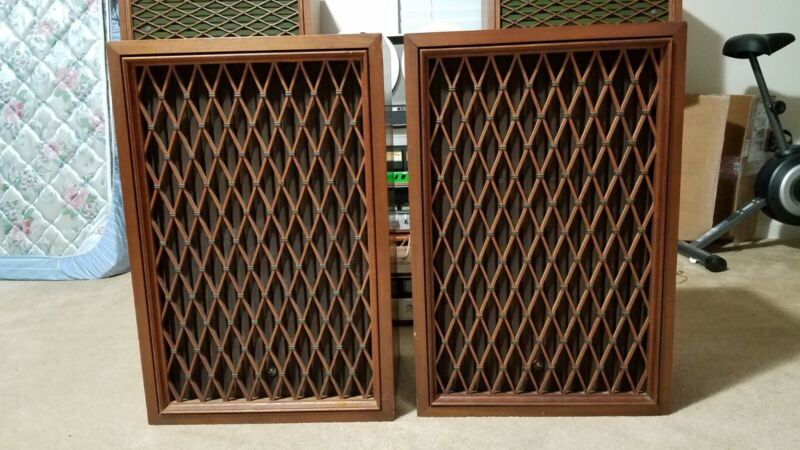 Pioneer CS-63DX Vintage 4 Way Floor Speaker Loudspeaker Pair