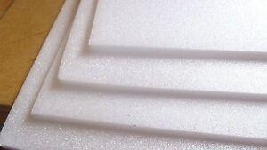Depron   foam sheets 3mm 1000mm x 350mm 4 pack white