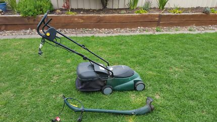Electric lawn mower and line trimmer Murray Bridge Murray Bridge Area Preview