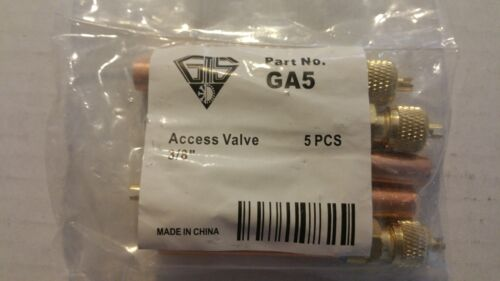 """ACCESS AND SERVICE VALVES 3/8""""-FOR A/C & REFRIGERATION LINES-10 VALVES"""