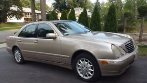 2001 Mercedes-Benz E320 (Good Condition)