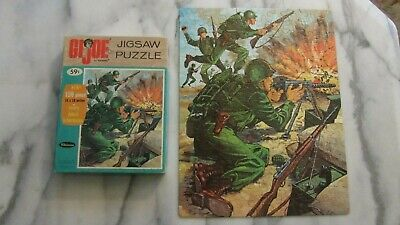WHITMAN - G.I.JOE (Army) - Rare Vintage 1965 Jigsaw Puzzle - Complete with Box
