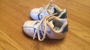 Baby size 4 adidas shoes