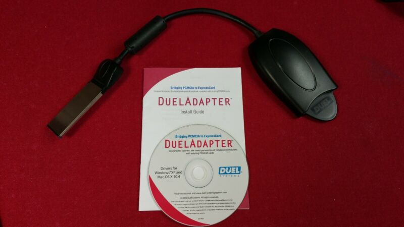 Duel Panasonic P2 Solid State Video Memory Card Reader with Express Card Adapter