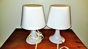 Ikea white lamps