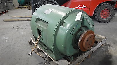 500 Hp Siemens-allis Electric Motor 1800 Rpm 507us Frame Dpbb 4160 V