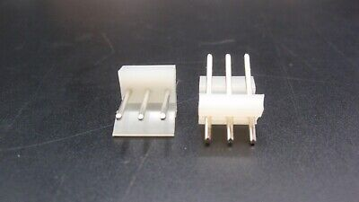 Molex 3-pin 3.91 Mm Pitch Round Pin Straight Header New Lot Of 25