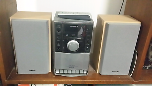 SONY micro hi fi component system mp3 CMT-EH10 Heidelberg Banyule Area Preview