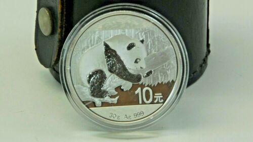 2016 China 30 gram Silver Panda (In Capsule)