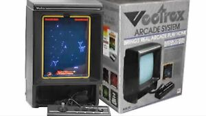 Wanted : vectrex console system and games