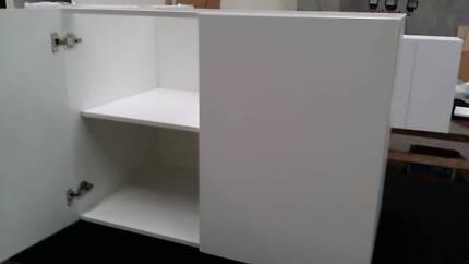 kitchen cabinet polyurethine door flat pack kitchen 700mm tops