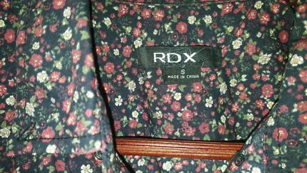 Men's RDX Floral Slim Fit Dress Shirt S