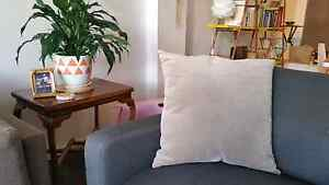 Morgan & Finch Grey Cushion with Insert Yarraville Maribyrnong Area Preview