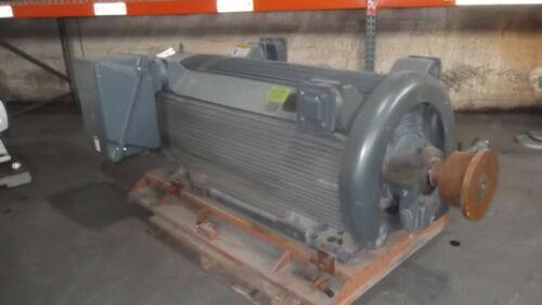 600 HP Siemens AC Electric Motor 1200 RPM Fr 5812S TEFCSB 4160 V EOK