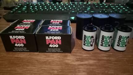 35mm Film Rolls - Ilford PAN 400 & HP5 PLUS 400