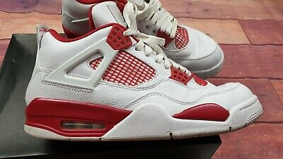 Nike AIR JORDAN 4 Retro Basketball Trainers Size: UK 9 US 10 EUR 44 VERY GOOD Co