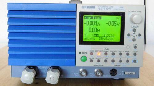 Kikusui PLZ164WA 0-150V, 0-33A, 165W DC Electronic Load
