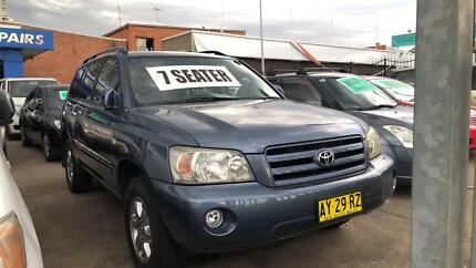 2004 Toyota Kluger SUV ! 7 Seater ! Fully Serviced & Inspected ! Granville Parramatta Area Preview