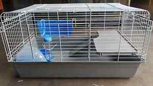 ❤❤LUXURIOUS 100CM INDOOR CAGE RABBITS GUINEA PIGS  PLASTIC BOTTOM Londonderry Penrith Area Preview