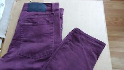 Cheap Red Tights (Men Jeans~Tight Drift Wine~34/32~CHEAP MONDAY~98% cotton~2%)