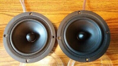 Scan-Speak 15M/4624600 4ohm midrange pair. very good condition