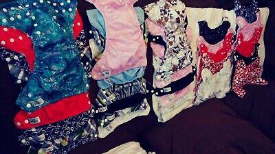 cloth diaper lot sunbaby/bum genius