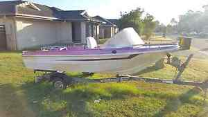 Boat, trailer and 28hp motor Caboolture South Caboolture Area Preview