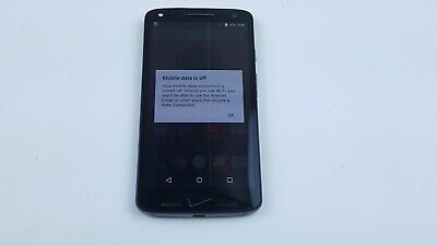 Motorola Droid Turbo 2 32GB Black (Verizon) Smartphone LCD Spot Clean IMEI J3810