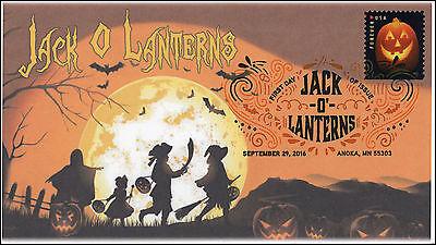 ns, Halloween, Pumpkins, Digital Color Postmark, 16-289 (Digitale Briefmarken Halloween)