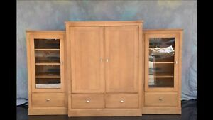 Solid Maple - 3 Piece Wall Unit - $400 OBO