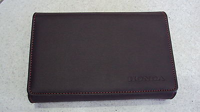 Genuine Honda Document Wallet Folder, can hold Service Book and Owners Manual