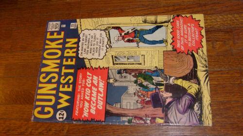 "GUNSMOKE WESTERN #72 with KID COLT OUTLAW, ""VERYGOOD"""