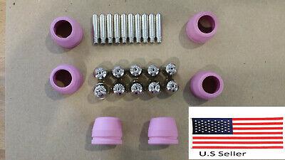 Amico 50 Amp Cut-50 Plasma Cutter Cutting Machine 26 Pcs Consumables Purple Cups