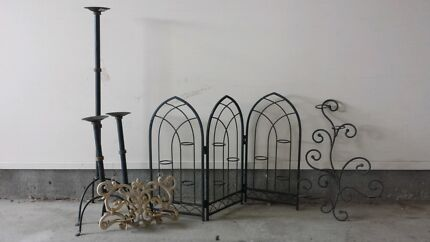Wrought Iron Candle Holders Quakers Hill Blacktown Area Preview