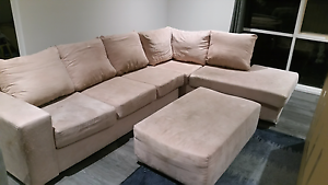 MODULAR CHAISE LOUNGE w/ OTTOMAN Ferntree Gully Knox Area Preview