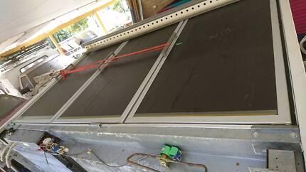 Commercial 3 door freezer. 3 phase separate compressor