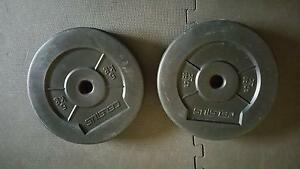 2 x 5 kg weight plates Hurstville Hurstville Area Preview