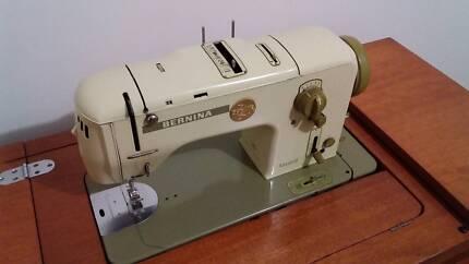 Bernina Favorit 740 sewing machine + foldaway desk +  More...