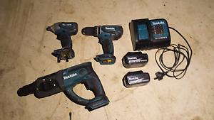 Makita 18v drill set Gordon Moorabool Area Preview