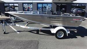 STACER 399 PROLINE STRIKER SIDE CONSOLE + YAMAHA 30HP 2-STROKE Boondall Brisbane North East Preview