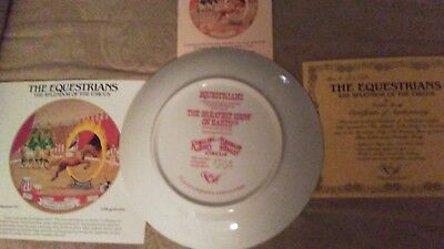 Ringling Bros. and Barnum & Bailey Circus Collector Plate ~ EQUESTRIANS