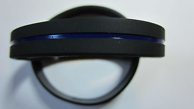 5 Thin Blue Line Wristband, Support Law Enforcement band, BTBL, Police  USA