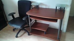 Computer Desk with Chair