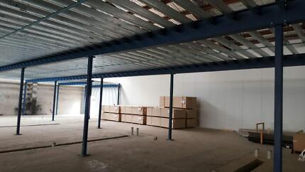 New diy mezzanine floor storage platform packagesolution5m x 9m mezzanine floors and raised storage area solutioingenieria Image collections
