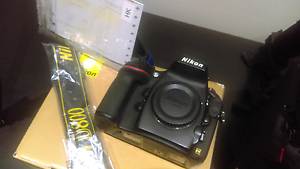 Package. Nikon D800 body only with Kata 3N1 Backpack and tripod Dean Park Blacktown Area Preview